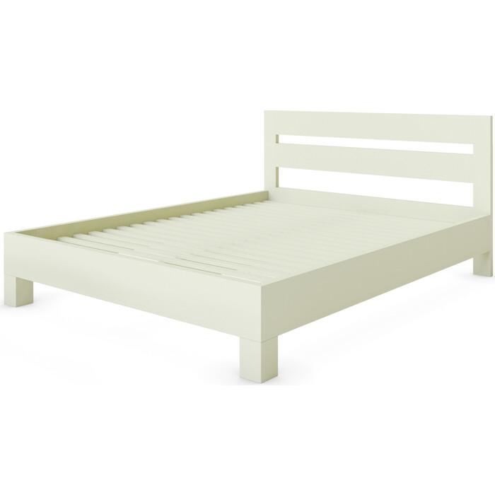 Кровать Miella Dream 90x195 слоновая кость (эмаль)