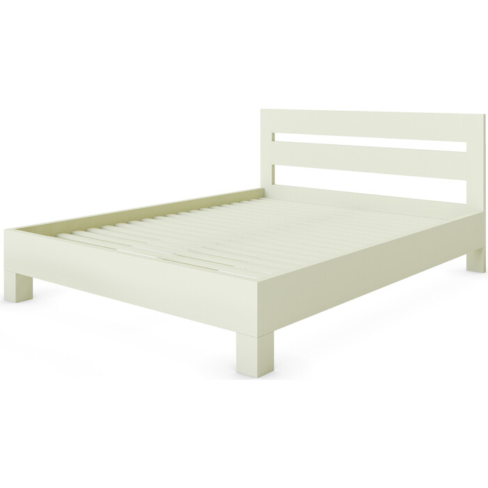 Кровать Miella Dream 90x200 слоновая кость (эмаль)