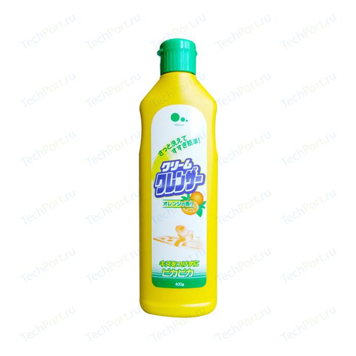 Чистящее средство MITSUEI для кухни, с ароматом апельсина, подходит стеклокерамики 400 г