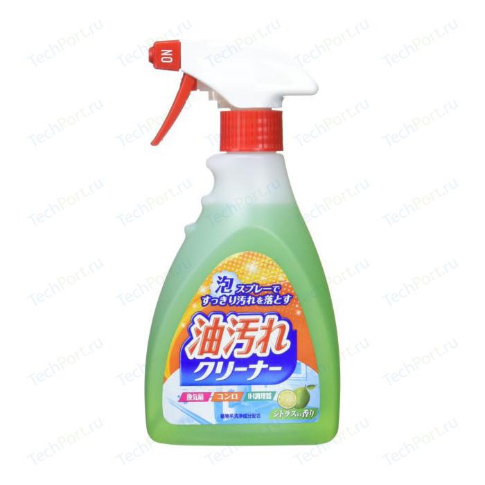 Фото - Жироудалитель Nihon Detergent спрей-пена для кухни, 400 мл антистатическая чистящая пена fellowes дерматолог безопасна 400 мл blg