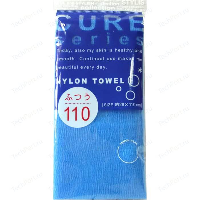 Мочалка для тела OHE CURE series жесткая, 110 см синяя