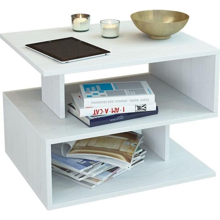 Журнальный стол Мастер Арто-22 (белый) МСТ-СЖА-22-БТ-16