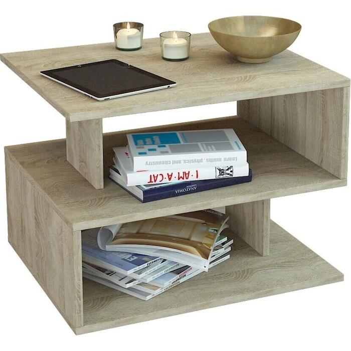 Журнальный стол Мастер Арто-22 (дуб сонома) МСТ-СЖА-22-ДС-16