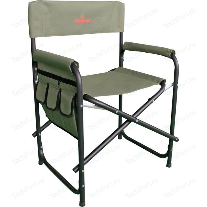 Кресло Woodland складное Outdoor Camo SK-02 с органайзером