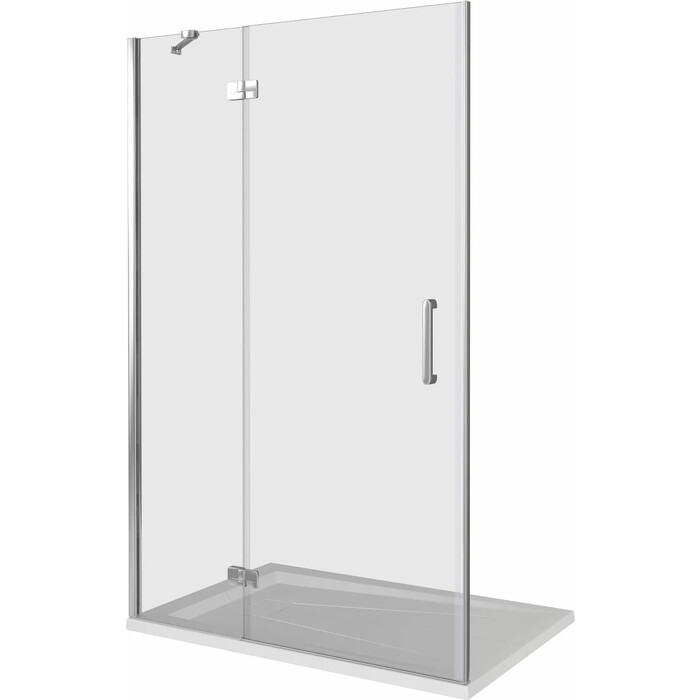 Душевая дверь Good Door Saturn WTW-110-C-CH-L 110x185 (СА00005)