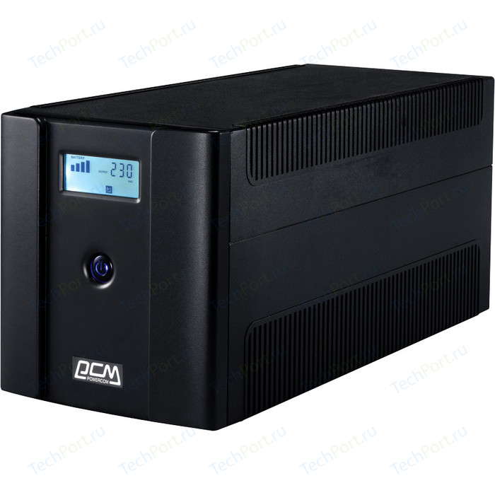 ИБП PowerCom RPT-2000AP LCD
