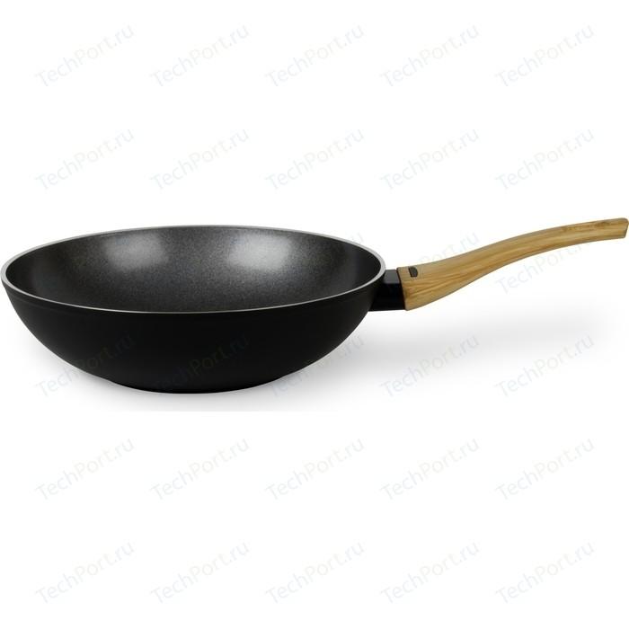 Сковорода WOK TVS d 28см Le Giuste (4J793283310001) сковорода d 24 см kukmara кофейный мрамор смки240а