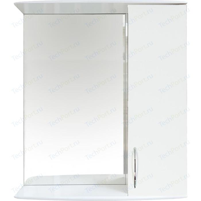 Шкаф-зеркало Orange Роса 50 белый (Ro-50ZSW)