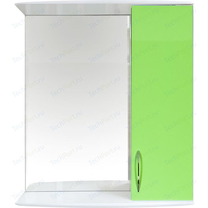 Шкаф-зеркало Orange Роса 50 салатовое (Ro-50ZSL)