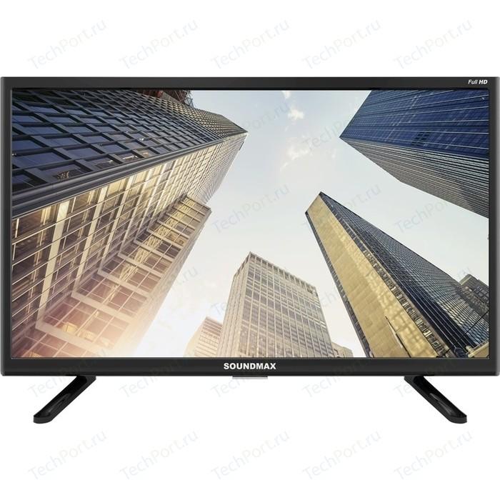 Фото - LED Телевизор Soundmax SM-LED22M06 mooncase для galaxy ace samsung sm 4 g357 sm g357fz держатель кожаный бумажник флип карты с kickstand чехол обложка no a10