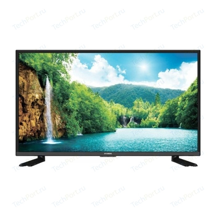 Фото - LED Телевизор Hyundai H-LED43F308BT2 портативный тв hyundai h lcd700 7 16 9