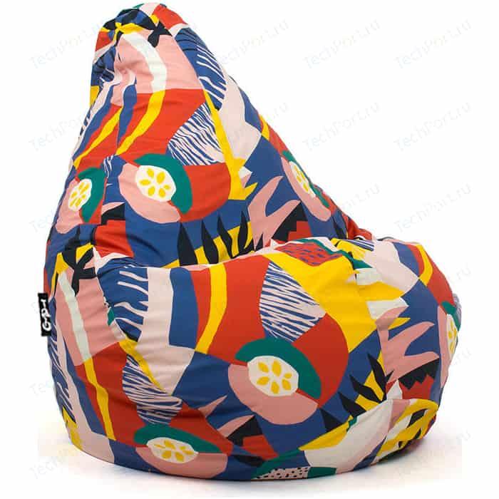 Кресло мешок GoodPoof Груша велюр папайя XL недорого