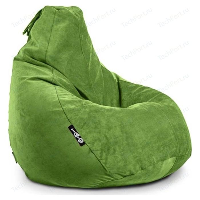 Кресло мешок GoodPoof Груша велюр яблоко XL