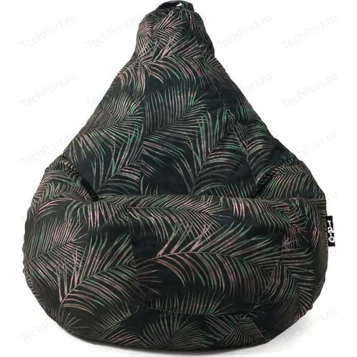 Кресло мешок GoodPoof Груша велюр тропики I XL