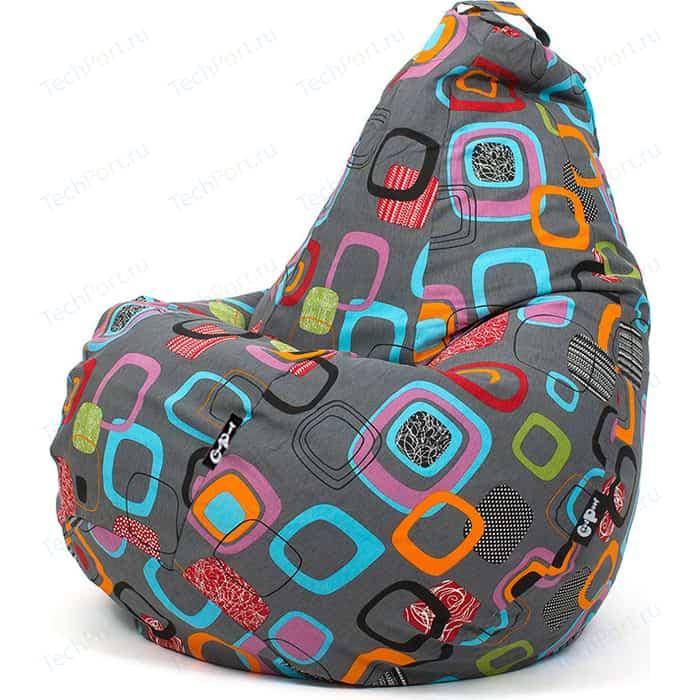 Кресло мешок GoodPoof Груша жаккард Мумбо XL