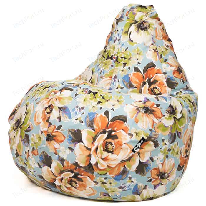Кресло мешок GoodPoof Груша жаккард Марта I XL