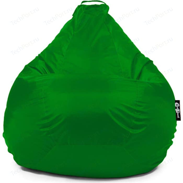 Кресло мешок GoodPoof Груша оксфорд зеленый XL
