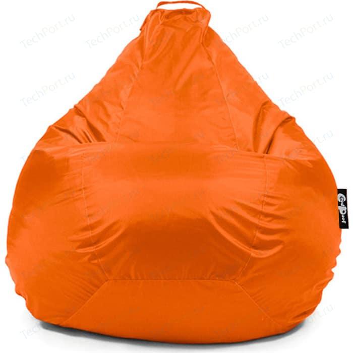 Кресло мешок GoodPoof Груша оксфорд оранжевый XL