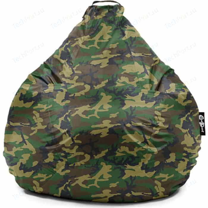 Кресло мешок GoodPoof Груша оксфорд камуфляж XL