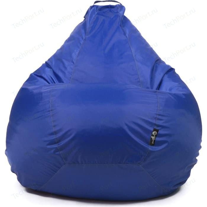 Кресло мешок GoodPoof Груша оксфорд синий XXL