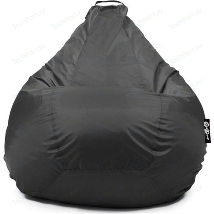 Кресло мешок GoodPoof Груша оксфорд черный XXL