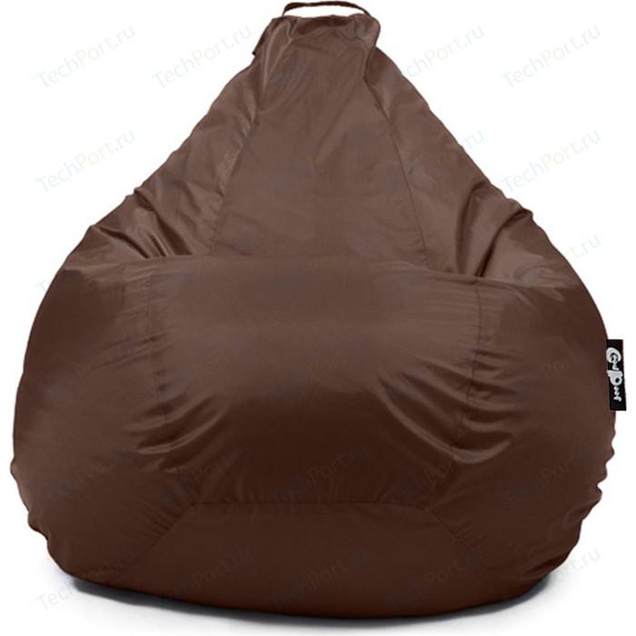 Кресло мешок GoodPoof Груша оксфорд коричневый XXL