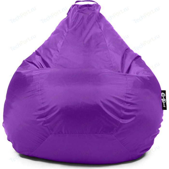 Кресло мешок GoodPoof Груша оксфорд фиолетовый XXL