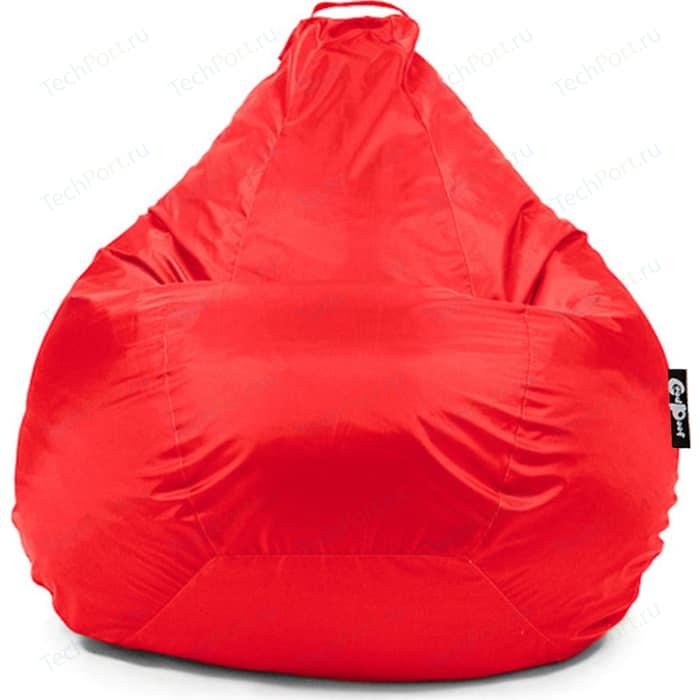 Кресло мешок GoodPoof Груша оксфорд красный XXL