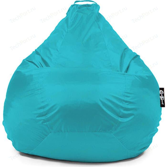 Кресло мешок GoodPoof Груша оксфорд голубой 3XL