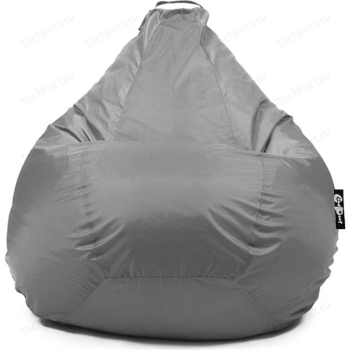 Кресло мешок GoodPoof Груша оксфорд серый 3XL