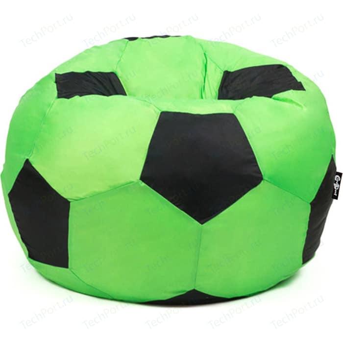 цена Кресло мяч GoodPoof Футбольный IX зелено-черный 80 L онлайн в 2017 году