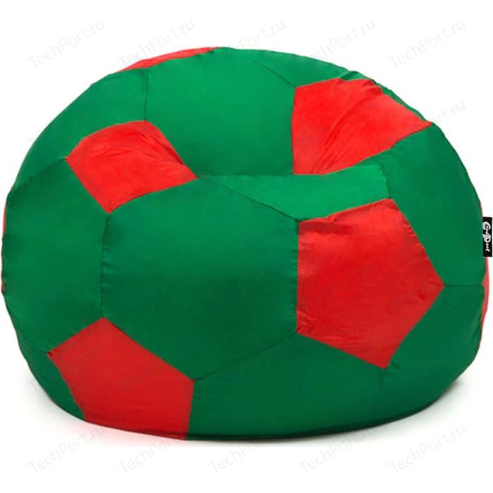 Кресло мяч GoodPoof Футбольный IV зелено-красный 80 L