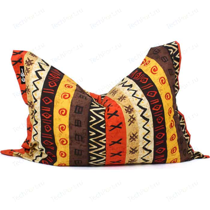 Кресло подушка GoodPoof Жаккард 135x100 L (мат) Африка