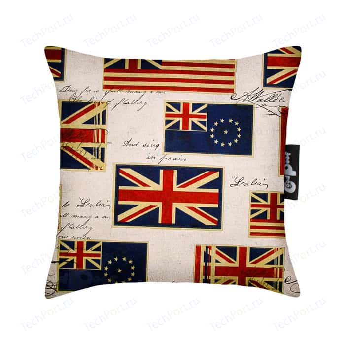 Декоративная подушка GoodPoof Флаги