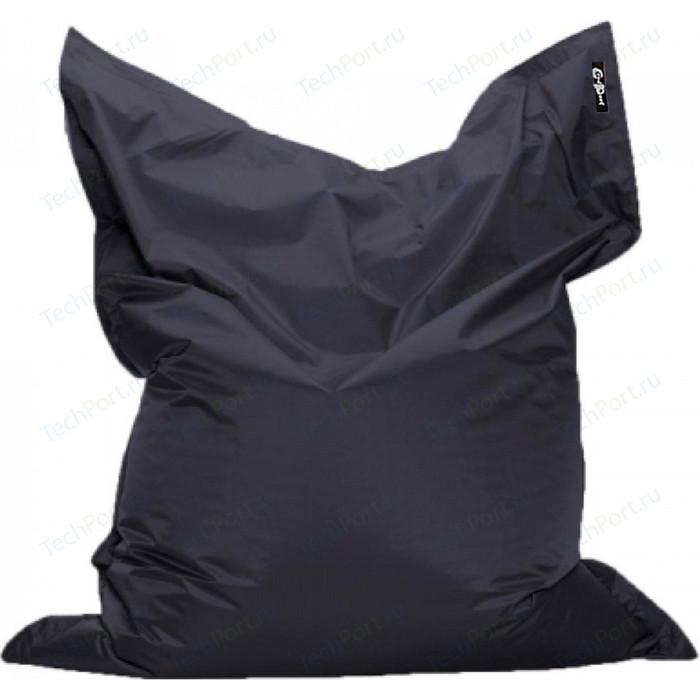 цена Кресло подушка GoodPoof Оксфорд черный 135x100 L онлайн в 2017 году