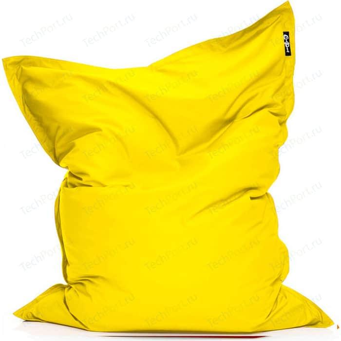 Фото - Кресло подушка GoodPoof Оксфорд желтый 190x145 XL кресло подушка goodpoof оксфорд серый 190x145 xl