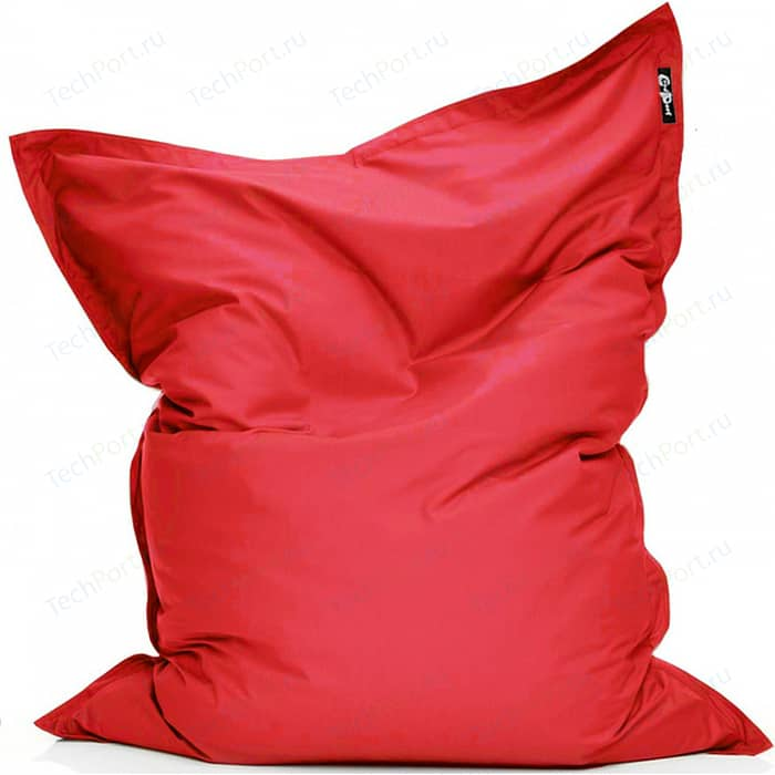 цена Кресло подушка GoodPoof Оксфорд красный 190x145 XL онлайн в 2017 году