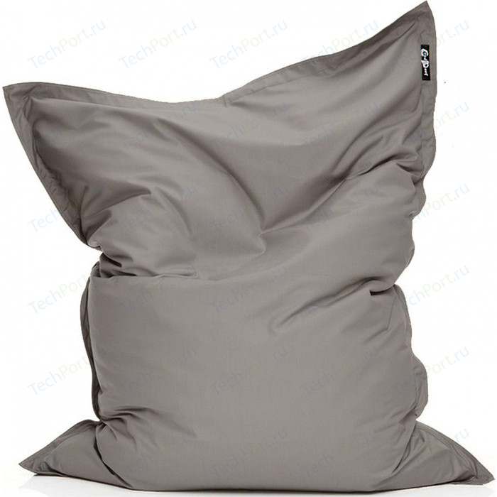 Фото - Кресло подушка GoodPoof Оксфорд серый 190x145 XL кресло подушка goodpoof оксфорд серый 190x145 xl