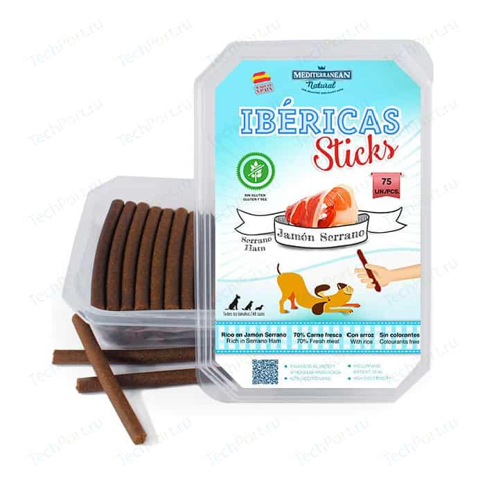 Лакомство MEDITERRANEAN IBERICAS Sticks Serrano Ham палочки из испанского хамона для собак 900г (75шт)