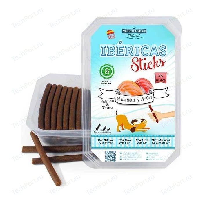Лакомство MEDITERRANEAN IBERICAS Sticks Salmon & Tuna палочки из лосося и тунца для собак 900г (75шт)