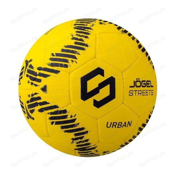 Фото - Мяч футбольный JOGEL JS-1110 Urban р.5 желтый мяч jogel js 510 kids 3 ут 00012406