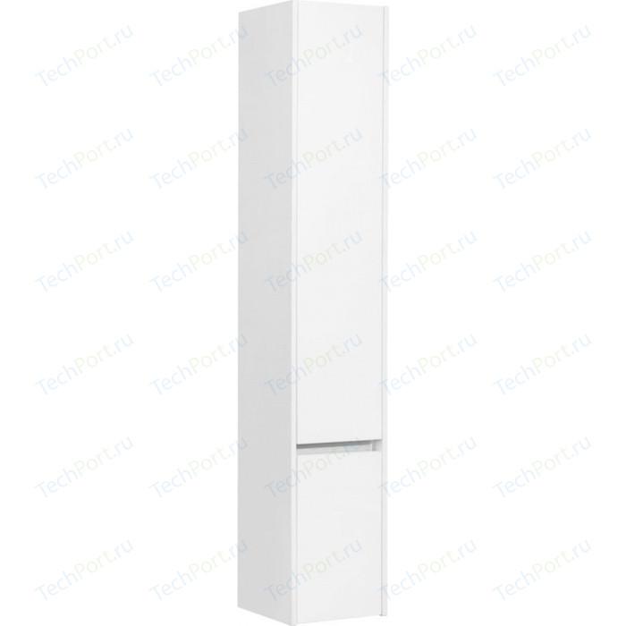 Пенал Акватон Стоун 30 белый глянец, левый (1A228403SX01L)