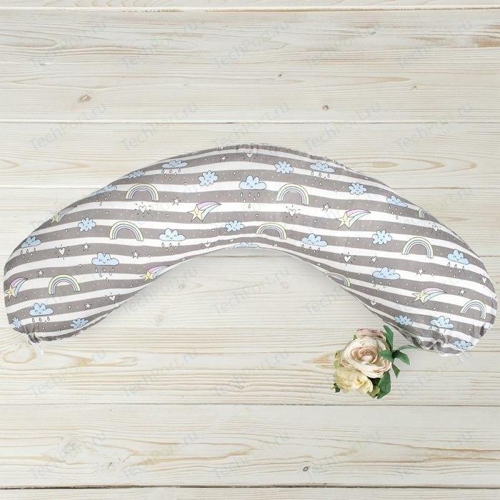 Подушка для беременных AmaroBaby WB 170х25 (Радуга)