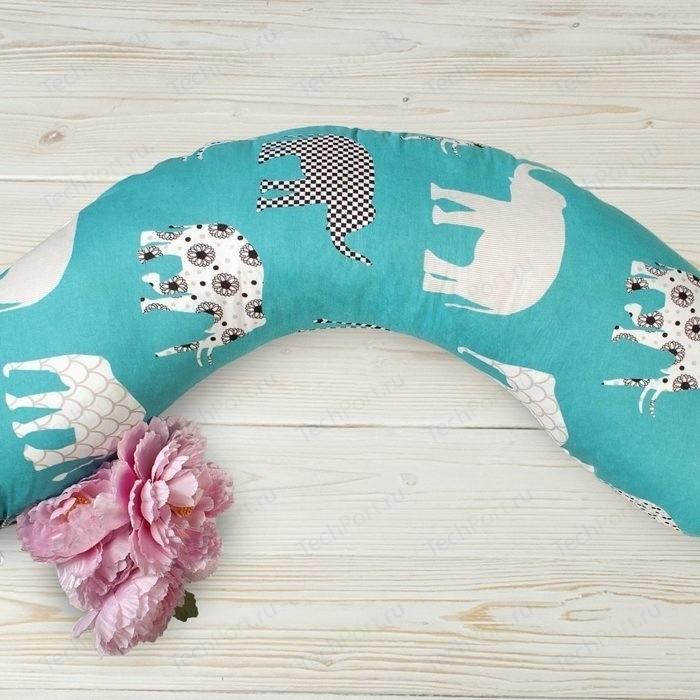 Подушка для беременных AmaroBaby WB 170х25 (Слоники)