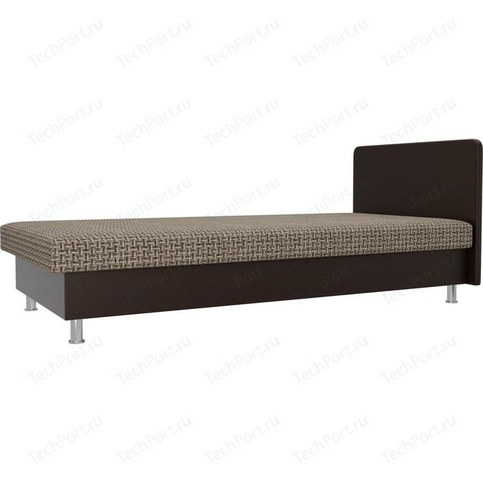 Кровать Лига Диванов Мальта корфу 03/экокожа коричневый