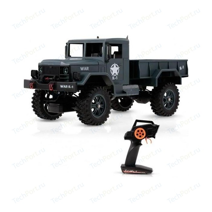 Радиоуправляемый внедорожник WL Toys Army Truck 4WD RTR масштаб 1-12 2.4G - WLT-124301