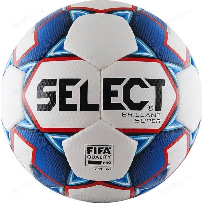 цена Мяч футбольный Select Brillant Super FIFA 810108-002 р.5 онлайн в 2017 году