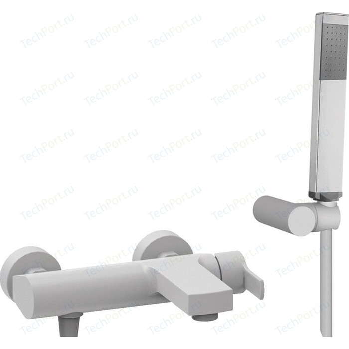 Смеситель для ванны Cezares Ovest белый (OVEST-VDM-BIO)