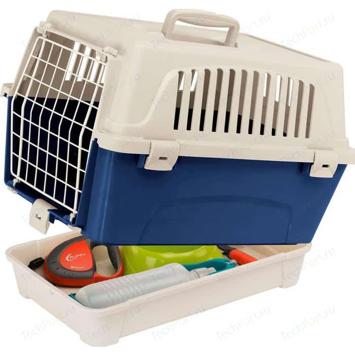 Переноска Ferplast ATLAS 10 ORGANIZER с поддоном для аксессуаров кошек и собак (73007399)