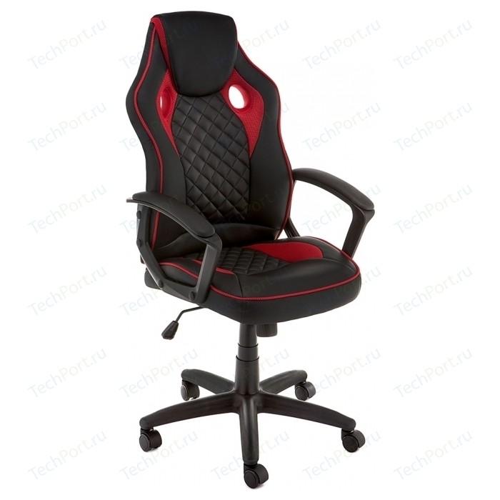 Кресло Woodville Raid черное/красное